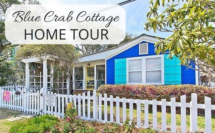 Beach Home Tour: Blue Crab Cottage Elevation