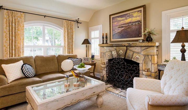 Carmel by the Sea - Living Room