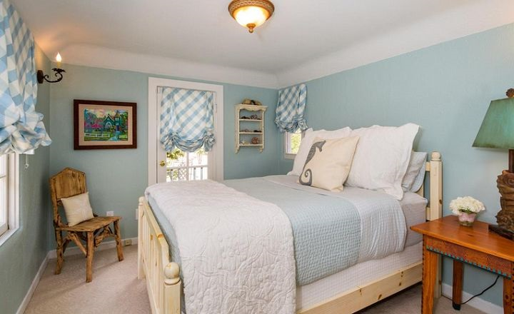 Carmel by the Sea - Blue Bedroom