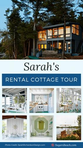Sarah's Rental Cottage Tour Pin 1