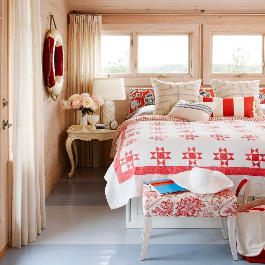 Sarah's Summer House Master Bedroom