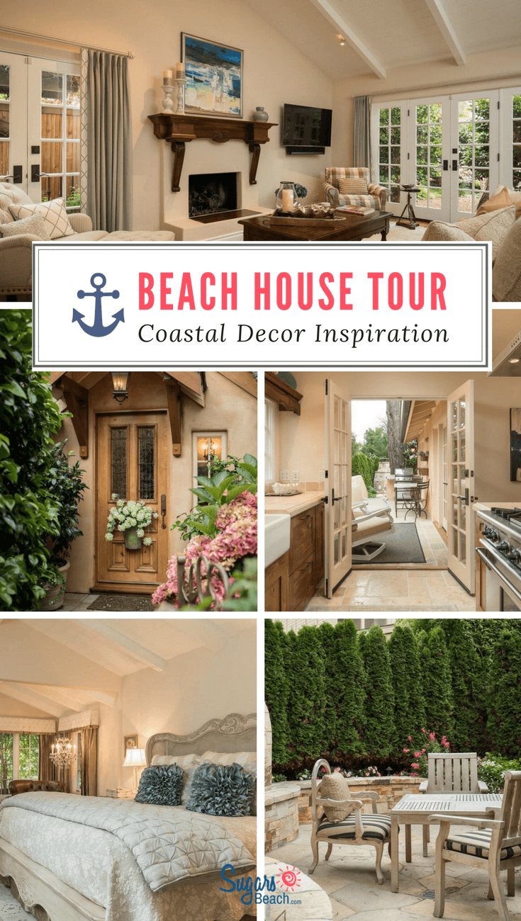 Beach House Tour Camellia Cottage