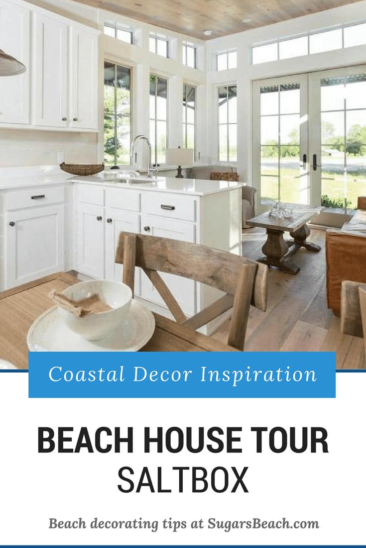Beachy Saltbox House Tour - Pin 1