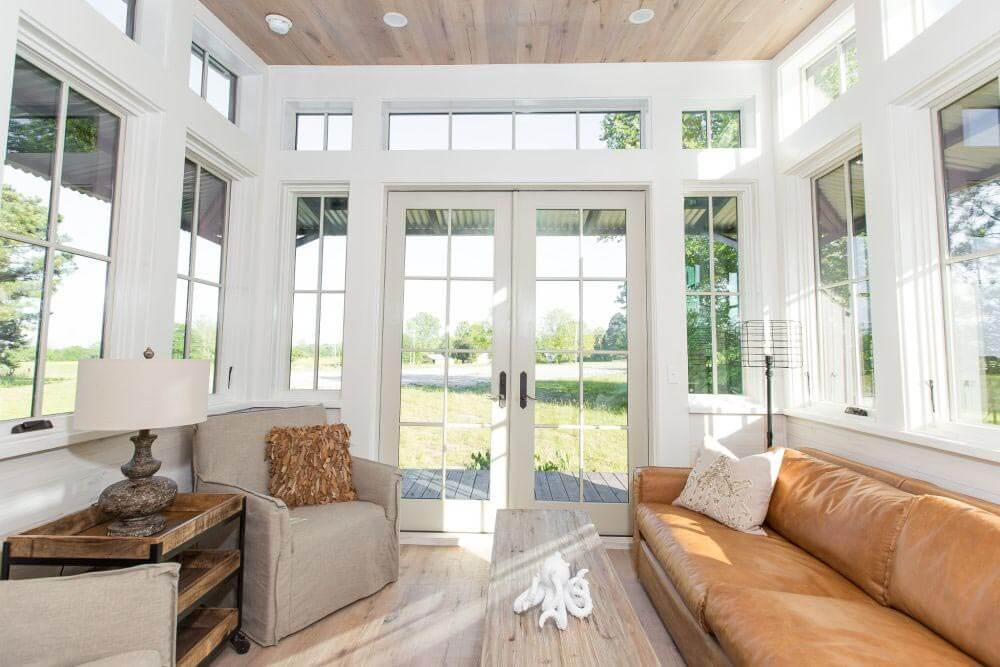 Beachy Saltbox Living Room - Different View