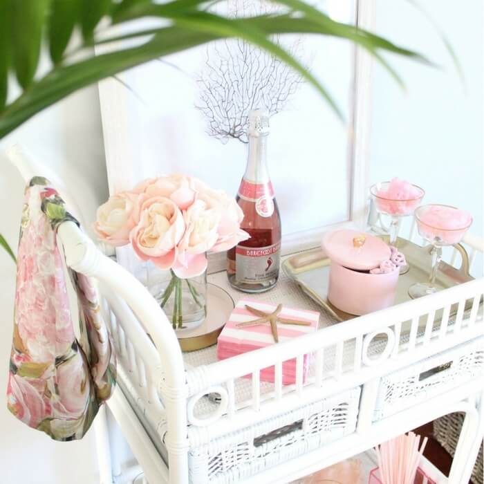 beach bar cart