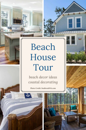 Ocean Tails Beach House Tour Pin 1
