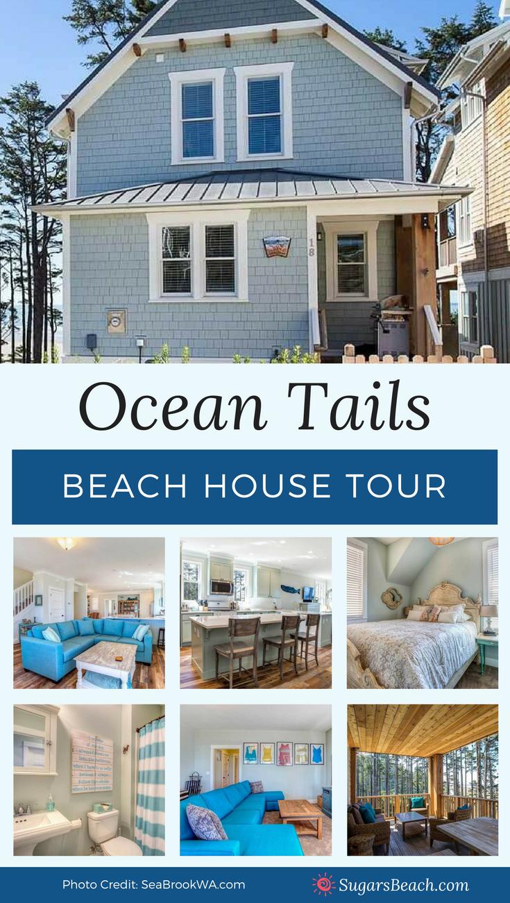 Ocean Tails Beach House Tour Pin 2