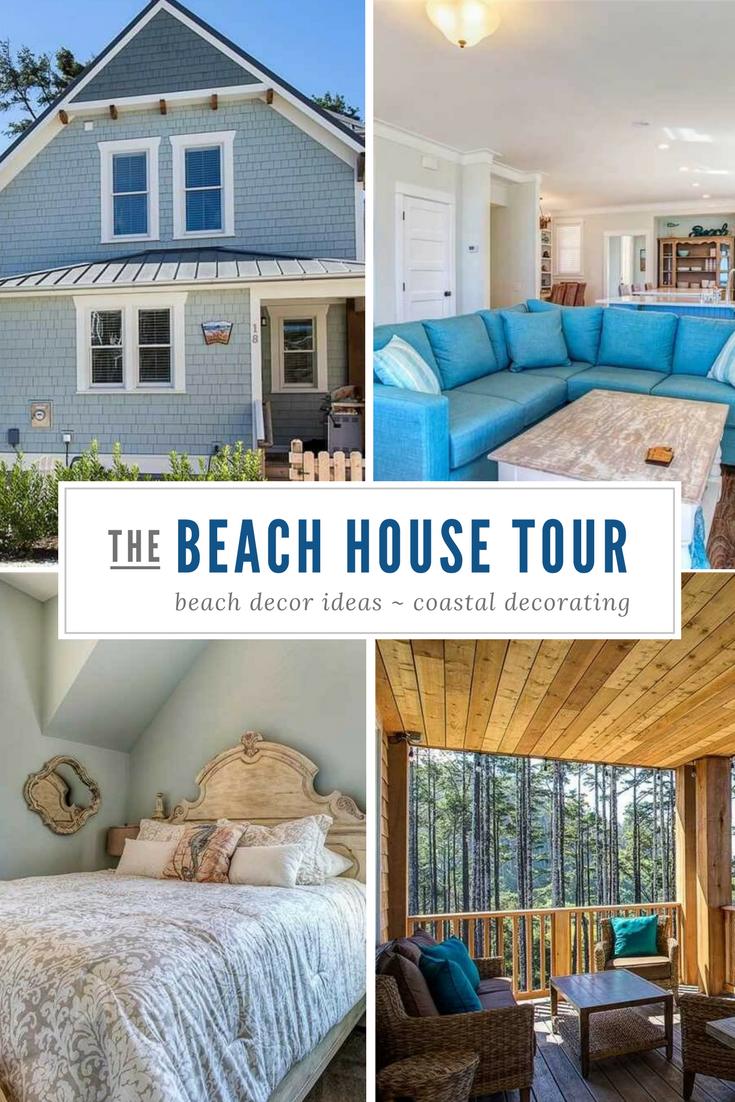 Ocean Tails Beach House Tour Pin