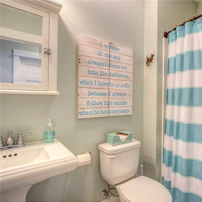 Ocean Tails Guest Bathroom