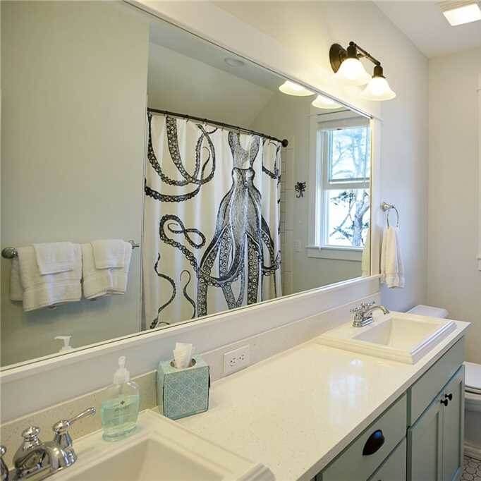 Ocean Tails Master Bathroom