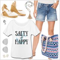 salty tshirt