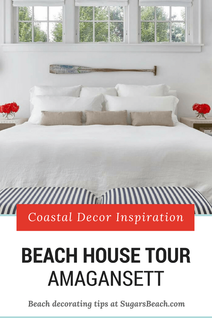 Amagansett Beach House Tour - Pin 1