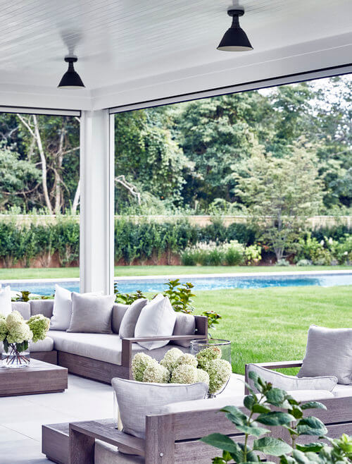Amagansett Outdoors Living Room