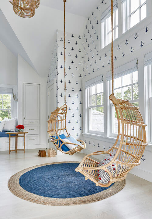 bedroom Swing Chairs