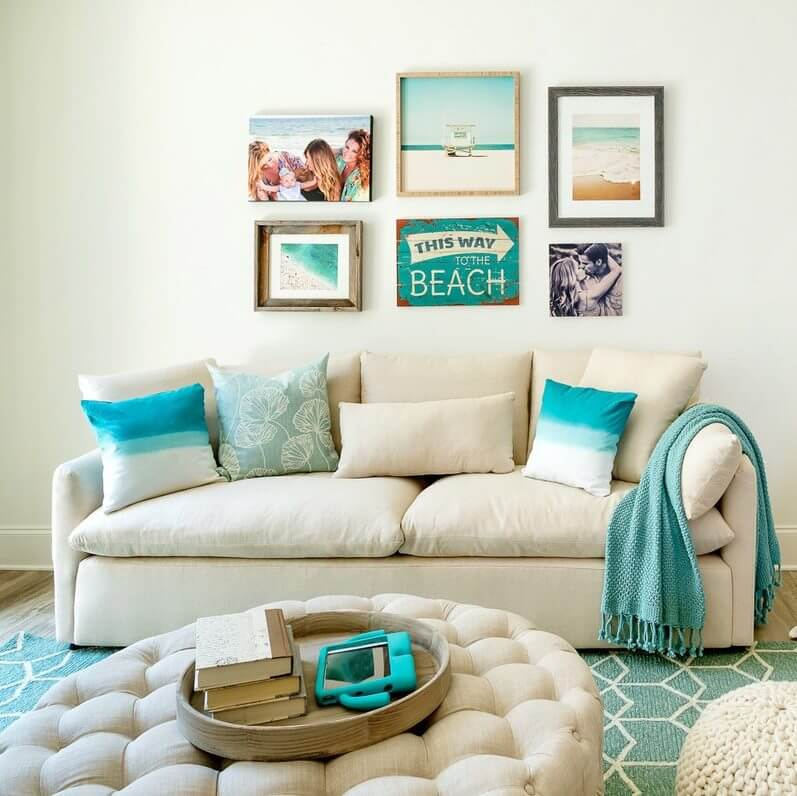 Beach Themed Living Rooms | Sugars Beach 2020