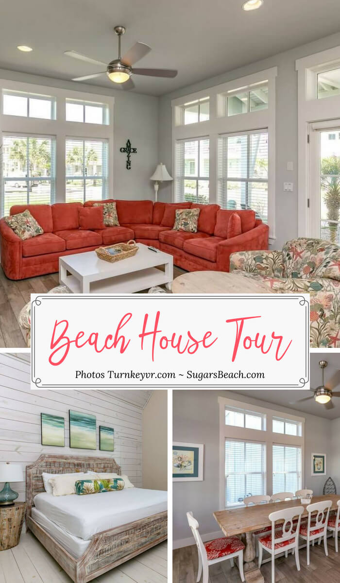 Amazing Grace Beach House Tour Pin