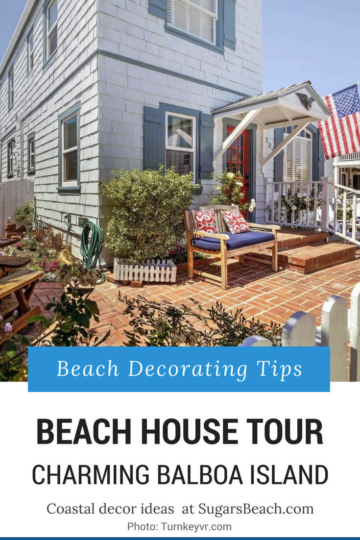 Charming Balboa Island Beach House Tour 1