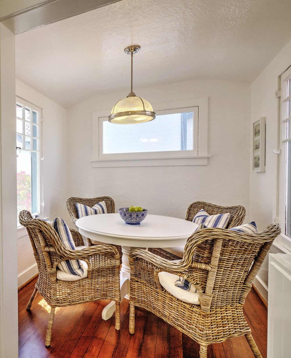 Charming Balboa Island Dining Room