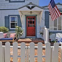 Charming Balboa Island Front Door