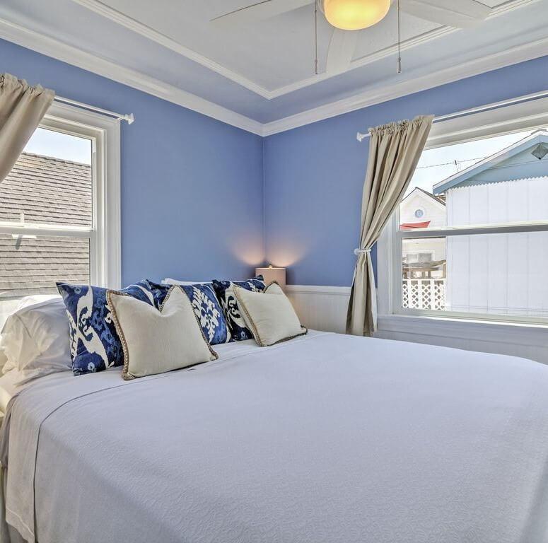 Charming Balboa Island Master Bedroom