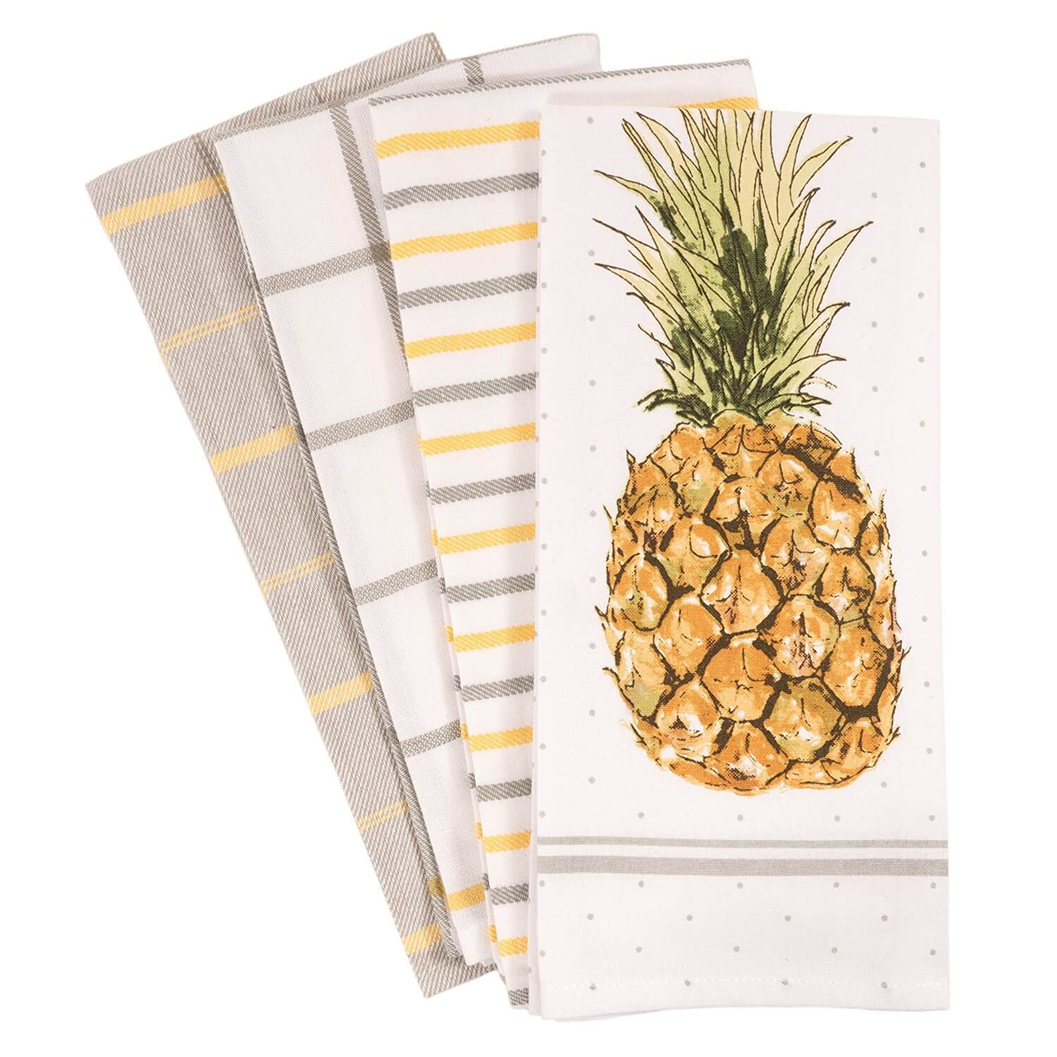 pineapple kitchen towels