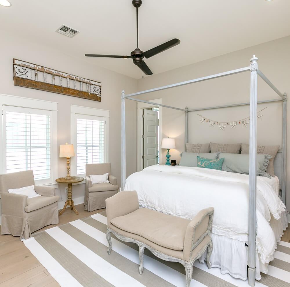 Port Aransas Coastal House Grand Master Bedroom