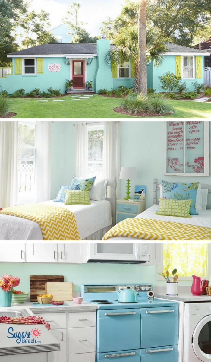 The Coral Cottage Beach House Tour Pin 1