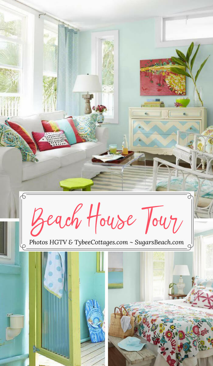 The Coral Cottage Beach House Tour Pin 2