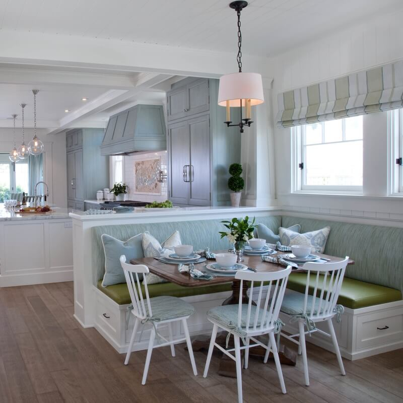 Dreamy Historical Beach House Dining Area