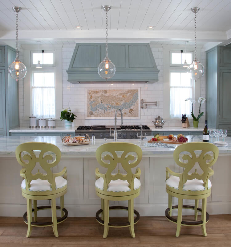 Dreamy Historical Beach House Kitchen