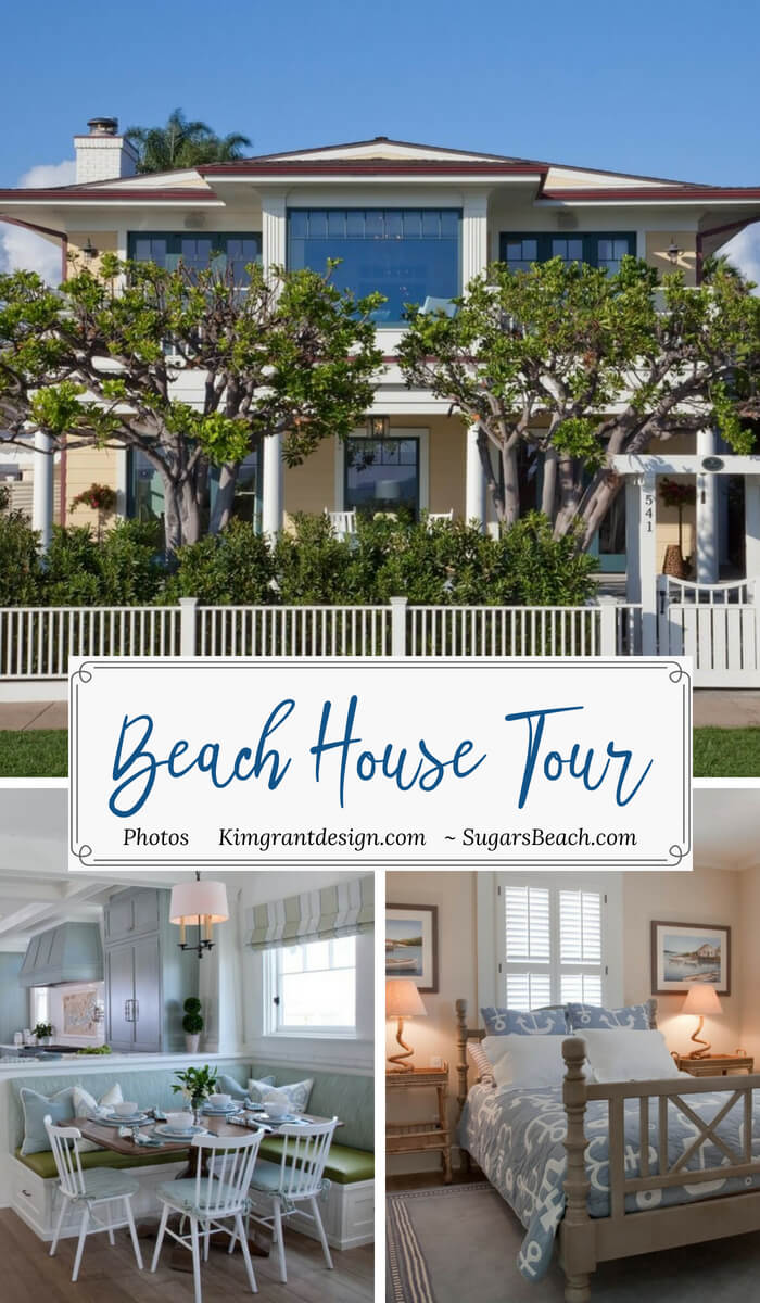 Dreamy Historical Beach House Tour Pin 2