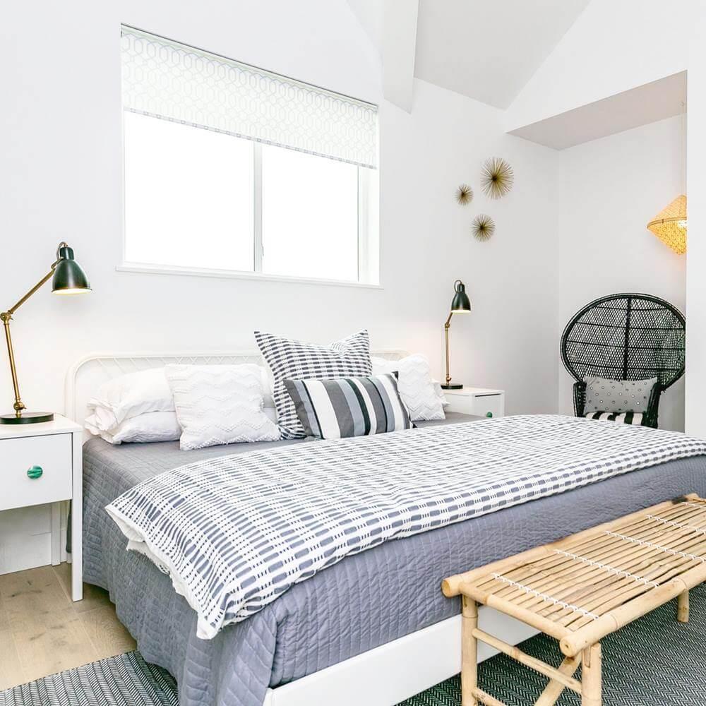 Modern Beach House Rental Port Aransas TX Bedroom