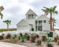 Modern Beach House Rental Port Aransas TX Exterior