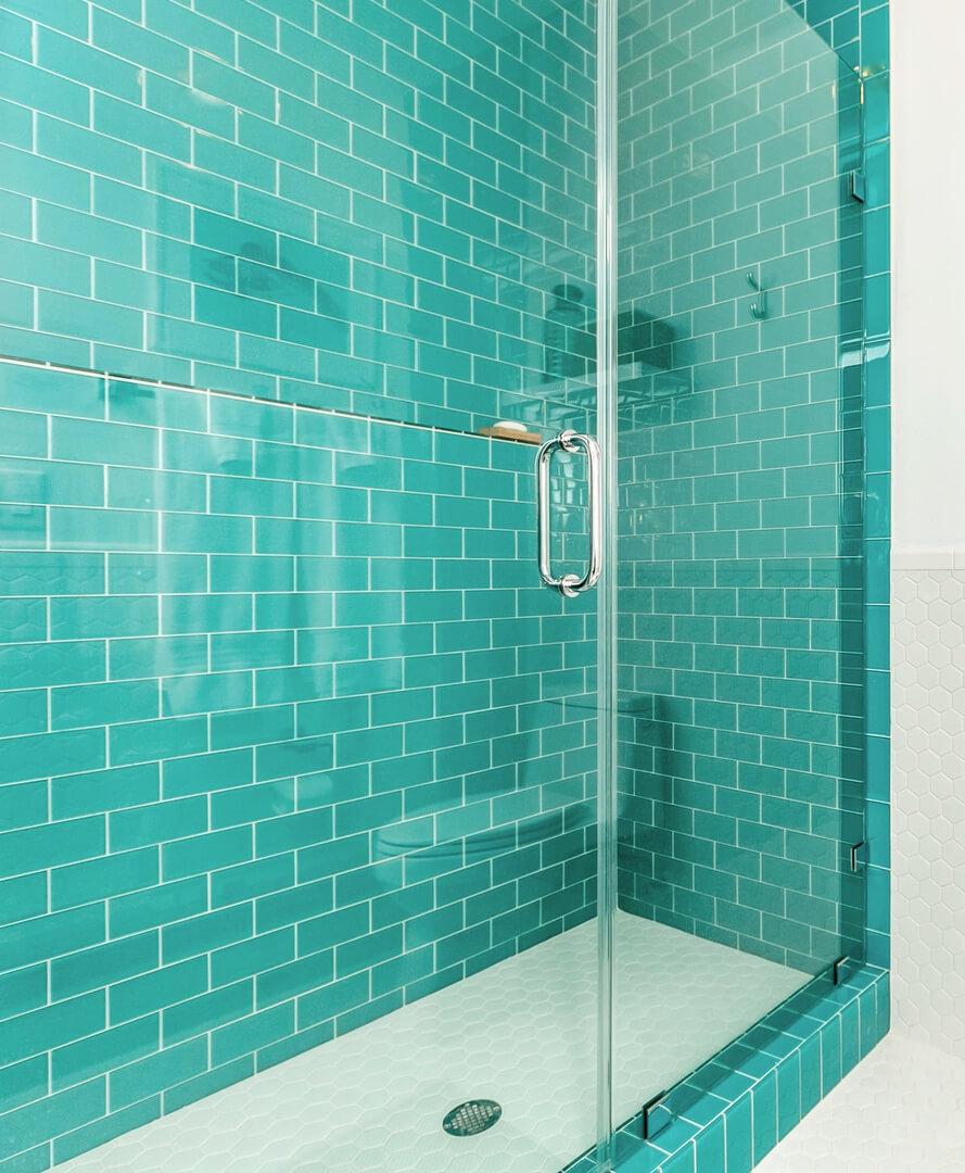 Modern Beach House Rental Port Aransas TX Guest Bathroom