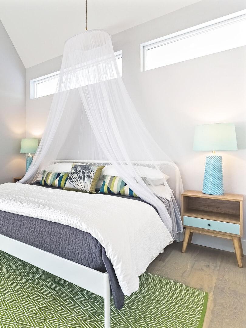 Modern Beach House Rental Port Aransas TX Guest Bedroom