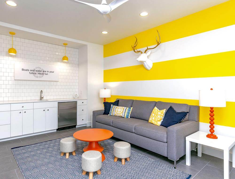 Modern Beach House Rental Port Aransas TX Living Space for kids