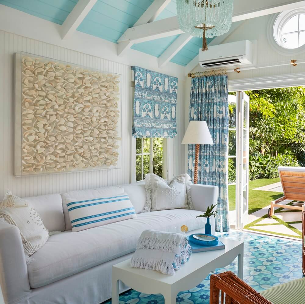 Palm Beach House by the Sea Living Room