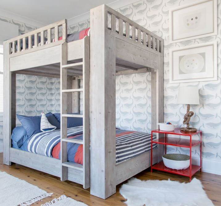 Beach Haven New Jersey House Bunk Bed