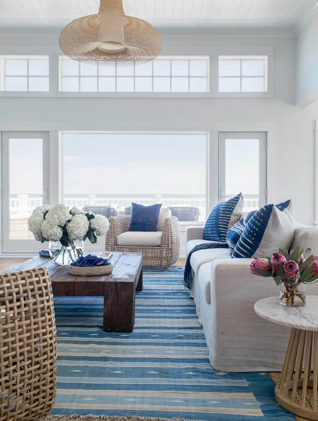 Beach Haven New Jersey House Living Room