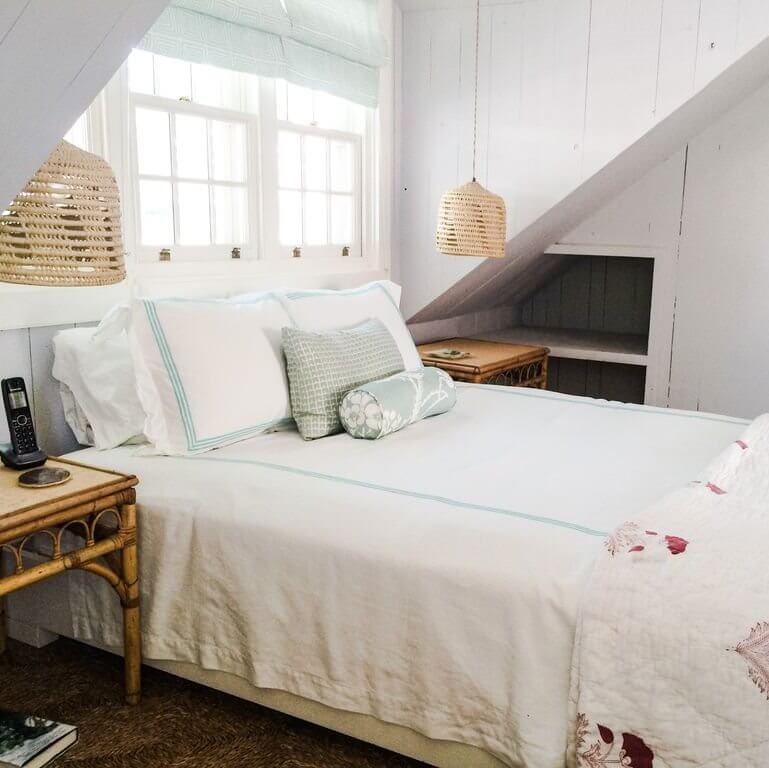 Chatterbox Harbour Island Beach Cottage Upstairs Queen Bedroom