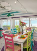 'Limefish' Beach House Rental Tour Dining Area