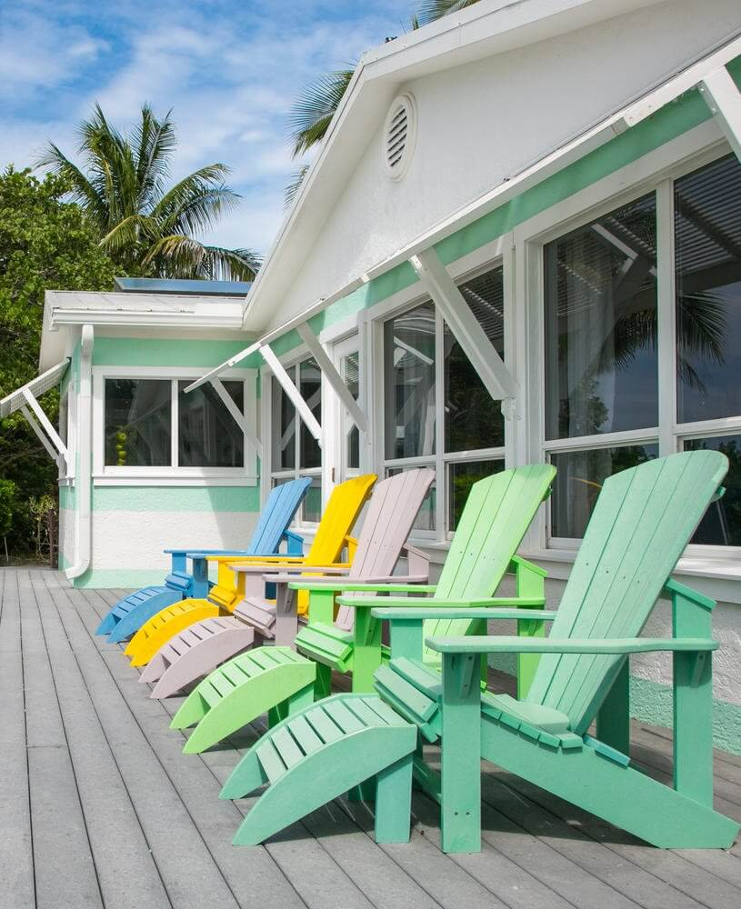 'Limefish' Beach House Rental Tour Front Deck