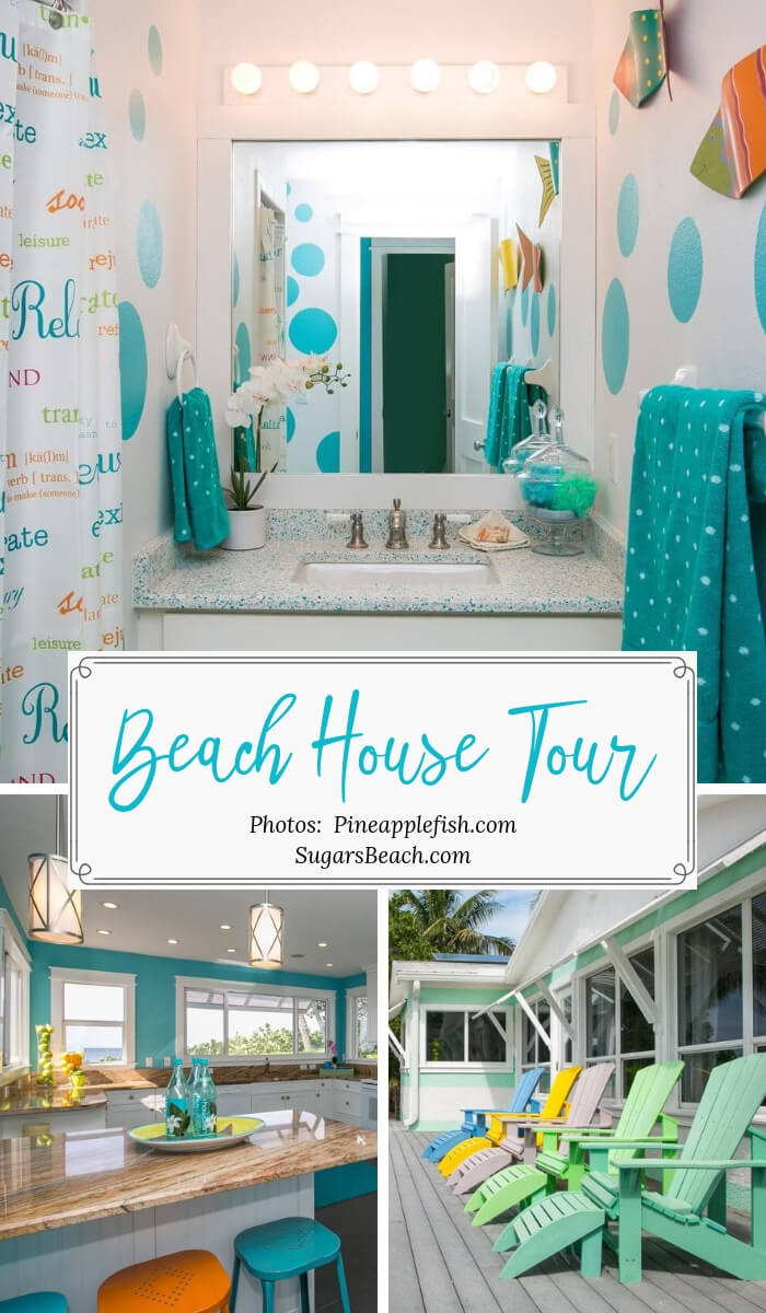 'Limefish' Beach House Rental Tour Pin