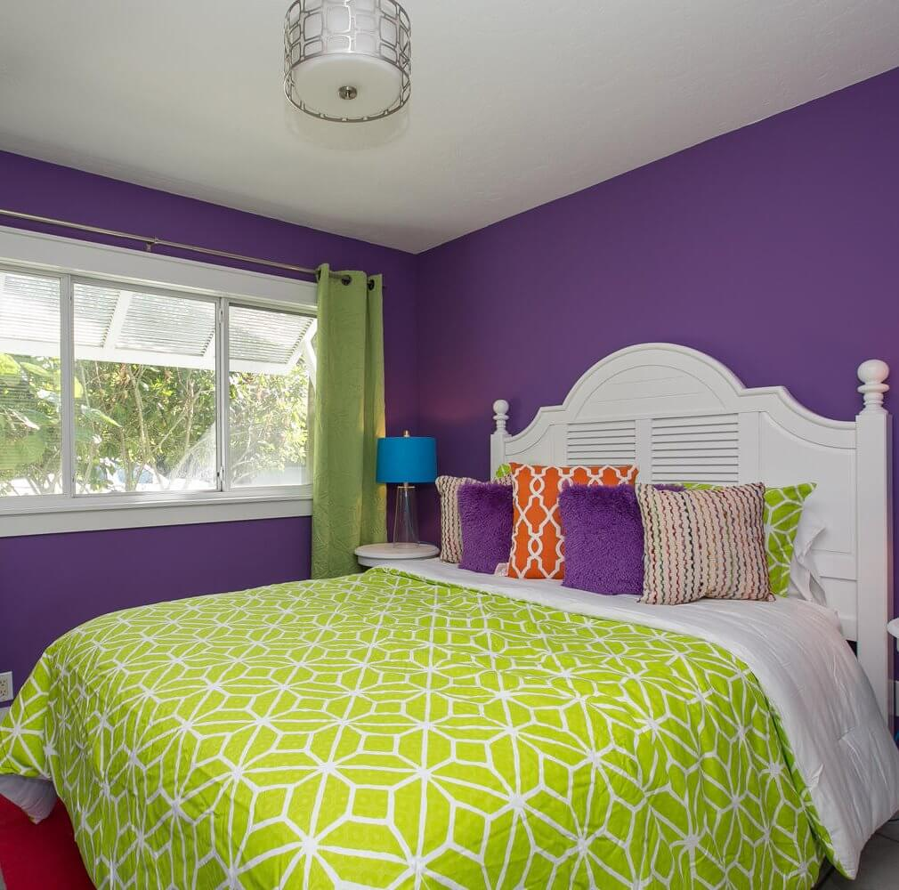 'Limefish' Beach House Rental Tour Second Bedroom