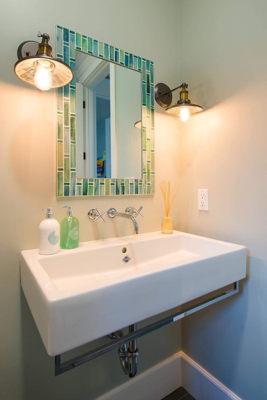 Manhattan Beach House Tour Bathroom sink