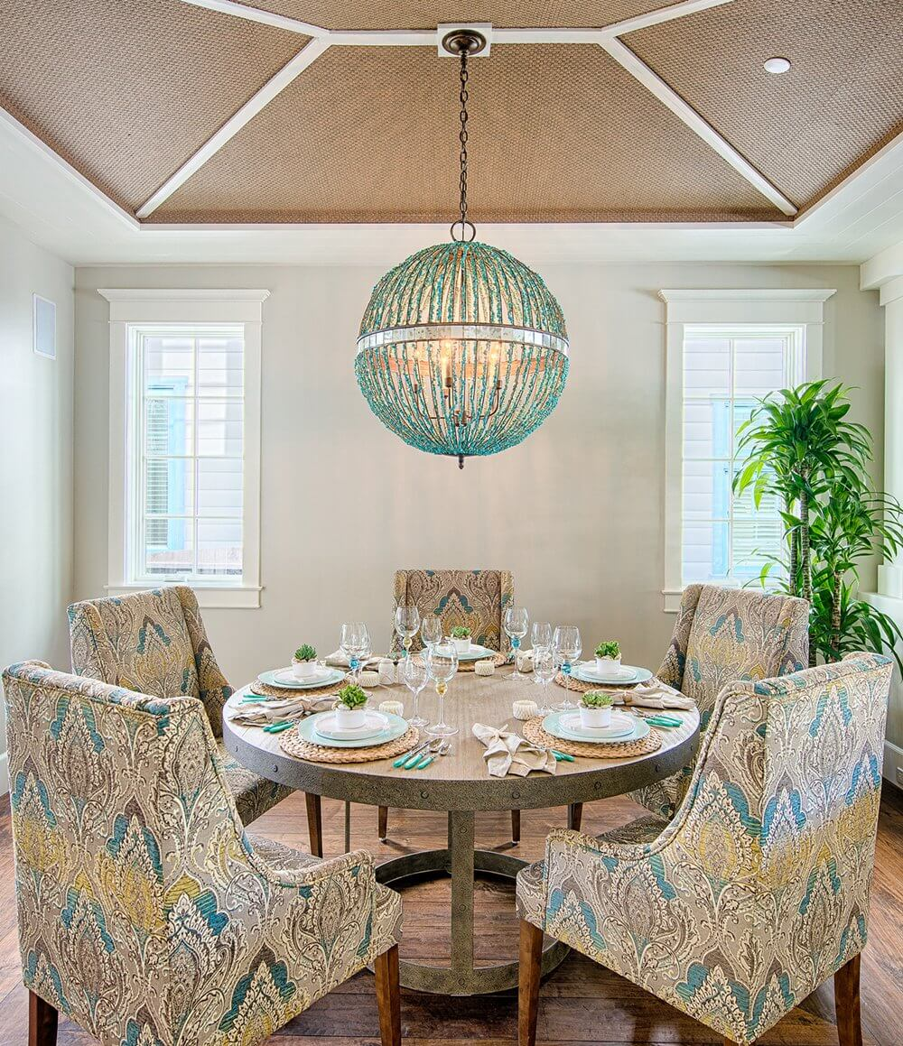 Manhattan Beach House Tour Dining Room