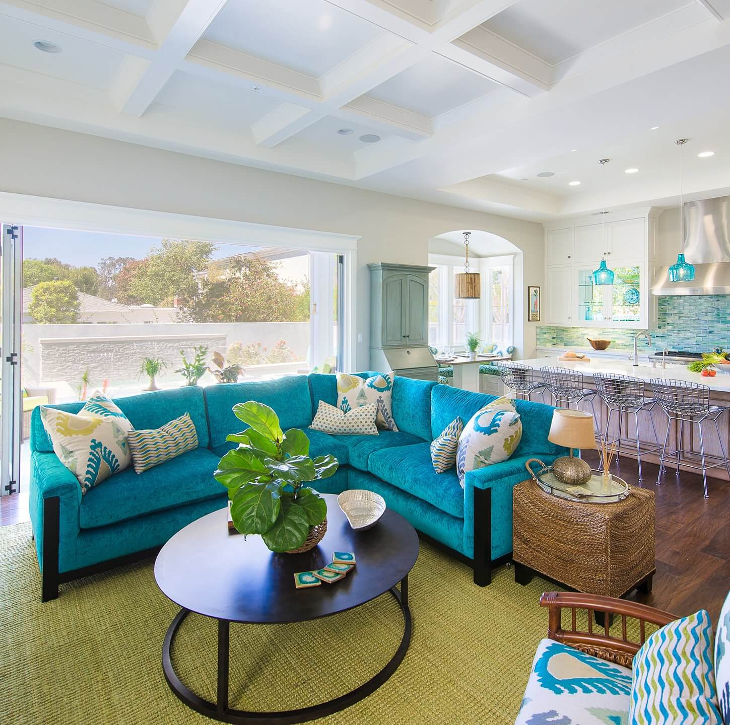 Manhattan Beach House Tour Living Room