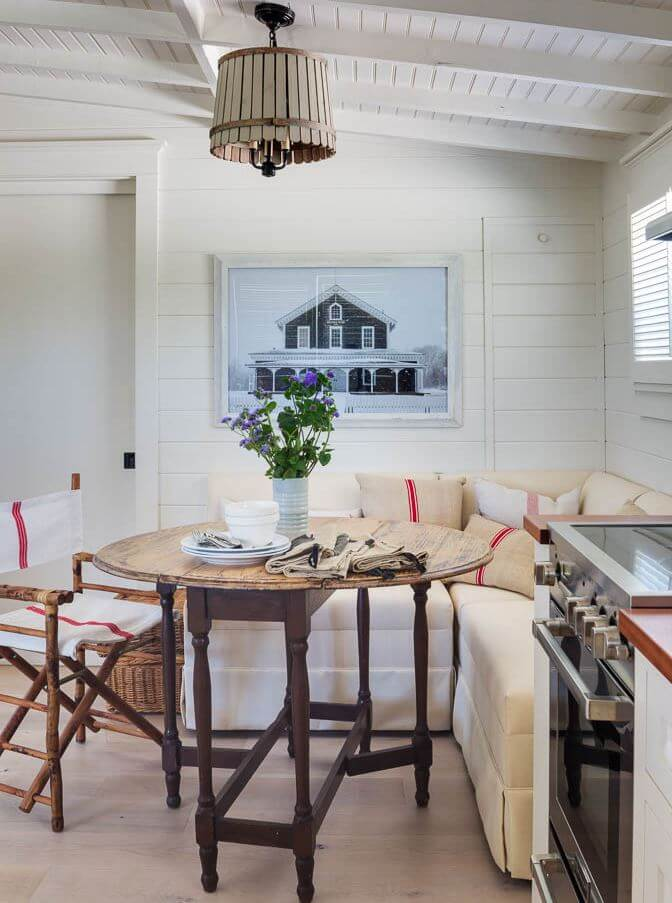 Martha's Vineyard Private Beach Cottage Guest House Dining