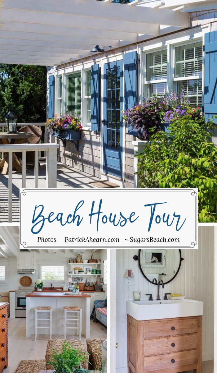 Martha's Vineyard Private Beach Cottage Tour - Guest House Pin