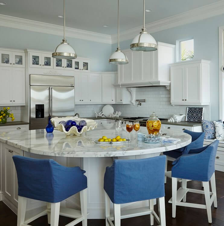 Naturally Serene Tequesta Beach House Kitchen
